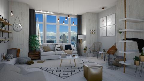 Baywindow - Living room - by waibelmackenzie
