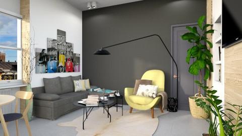 wood - Living room - by Inokentijroom