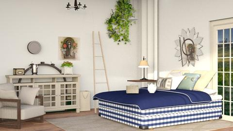 Country Lane - Classic - Bedroom - by Jessica Fox