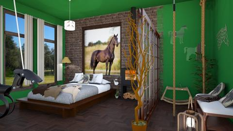 horselover - Global - Bedroom - by zayneb_17