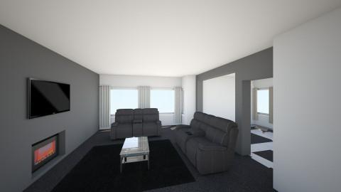 Ground Floor1 - Living room - by jillofish