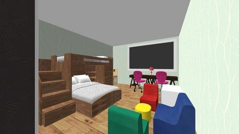 Mahja_Sani2 - Kids room - by W Yutani