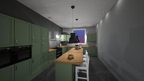 Kitchen Debaty Delhaye - Kitchen - by Shuu Dark
