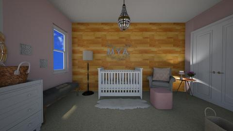 Pink nursery - by cowgirlsweet