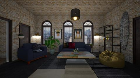 nyc apartment 3 - Living room - by IrmaPudzemyte