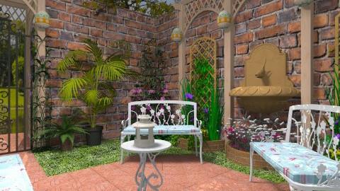Garden Corner - Classic - Garden - by Bibiche