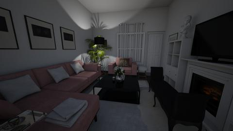 pink_velvet - Living room - by cdarrach