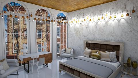 boho bedroom - Rustic - Bedroom - by thelmatrovatten