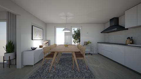 light ikea - Modern - Kitchen - by wilmaskold