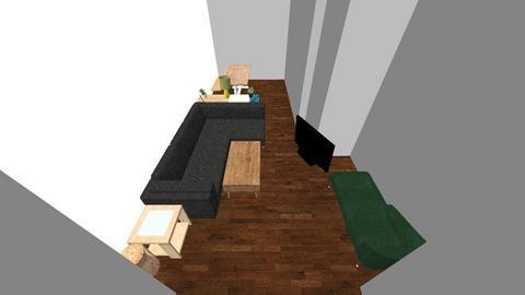 LivingRoom_Kitchen - Living room - by LauraGlad