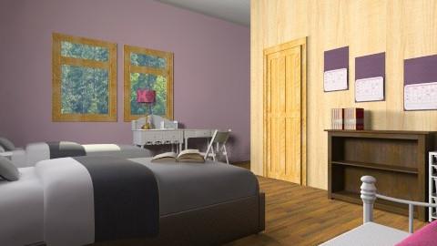 Girls room - by The Beane Designer