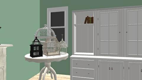 Bedroom - Vintage - Bedroom - by makennaC3