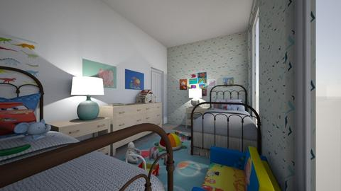 Kids Room Elle and Ethan - Classic - Bedroom - by Angel122