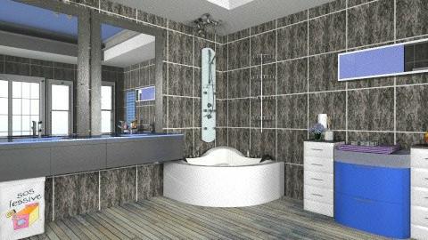 banqqq - Bathroom - by Inaaaa
