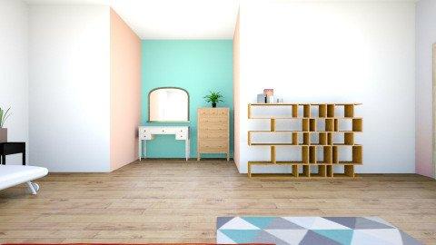 modern teen luxury bedroo - Modern - Bedroom - by 3d room