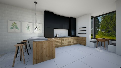 KITCHEN MODERN - Modern - Kitchen - by naominaomi