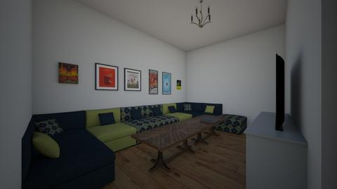 Living Room - Country - Living room - by kittytarg