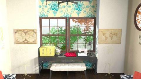 Craft Room - Rustic - Office - by emilypinnock