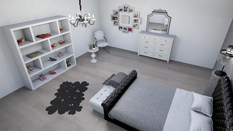 grey tints  - Classic - Bedroom - by darinab