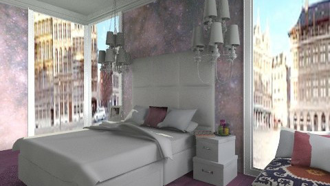 Purple Haze - Glamour - Bedroom - by amandafern