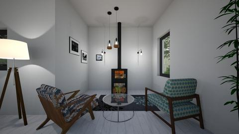 open space - Living room - by Angela Quintieri