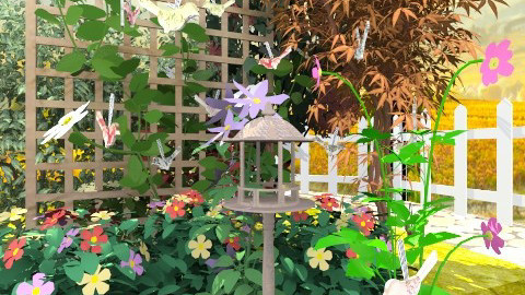 birdhouse with a view - Country - Garden - by hetregent