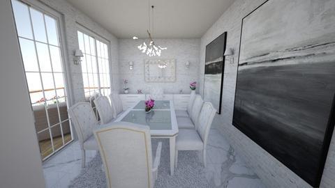 Clear  - Modern - Dining room - by DStojanova