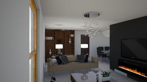 Woonkamer - Living room - by Britt9