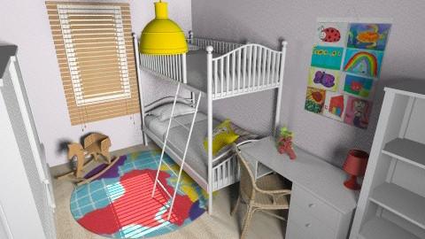 Lia_Itay_96b - Classic - Kids room - by noga boyarsky