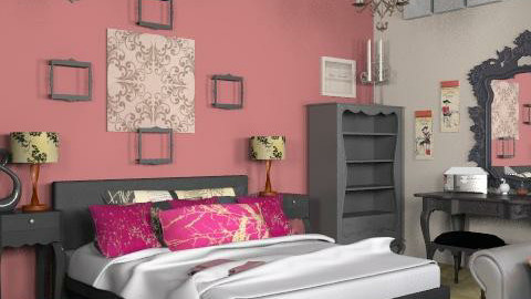 Velvet - Glamour - Bedroom - by HazelMP