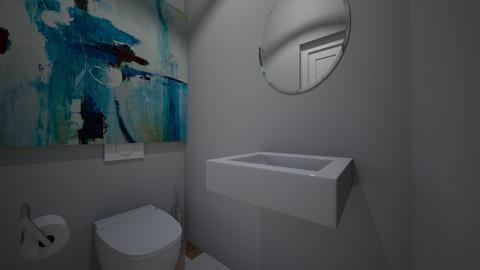 Basic Toilet - Modern - Bathroom - by CizzleG