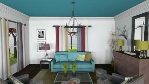 Lodge - Vintage - Living room - by mrusso0