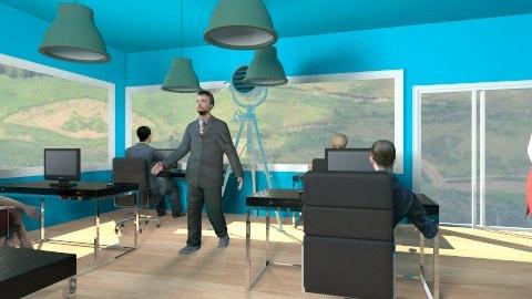 Trendy office - Modern - Office - by Matthew Lindsay Smith