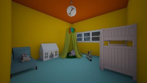 Bright Room - Kids room - by gem27