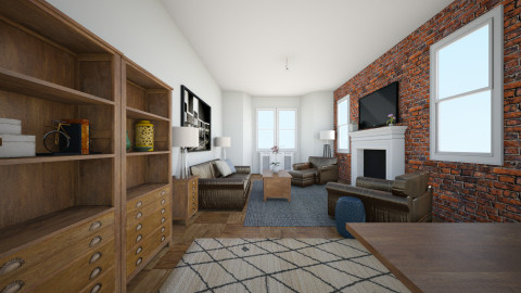 303 West 80th Street 4BC - Living room - by murphystaging