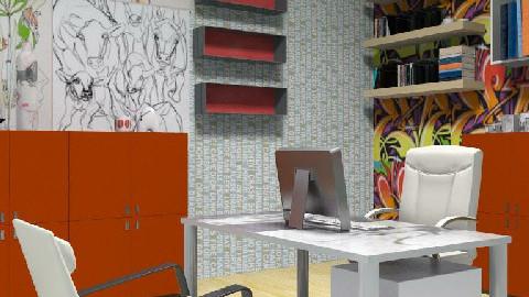 Undone Office Space - Modern - Office - by jenshadow_222