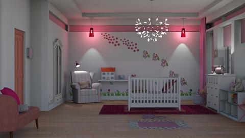 crib - Kids room - by pachecosilv