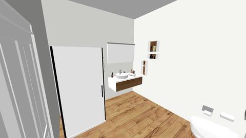 Lazienka na dole - Bathroom - by martynanieklan