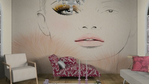 Perfected - Glamour - Living room - by Coco_Juno