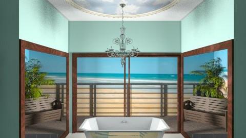 beach - Modern - Bathroom - by jazzmineherzig
