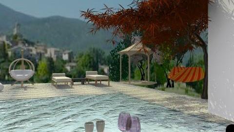 Luberon pool - Classic - Garden - by calu13