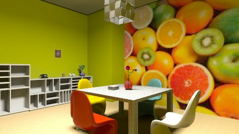 plastic - Modern - Dining room - by sunlove