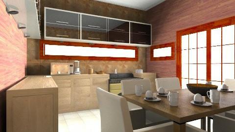 cosy kitchen - Kitchen - by Nina Gatta