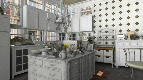 French Kitchen  - Classic - Kitchen - by Ayisha1999