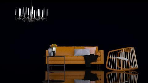 Ochre - Minimal - Living room - by HenkRetro1960