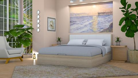 Beach Picture - Bedroom - by michelle galle