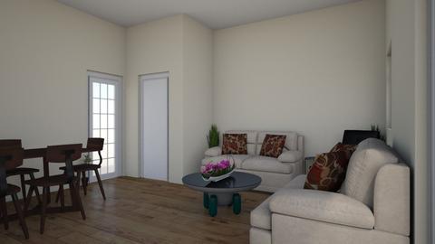 Su - Living room - by subarnasg