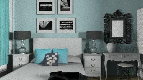 Bluesss - Bedroom - by bibiboo