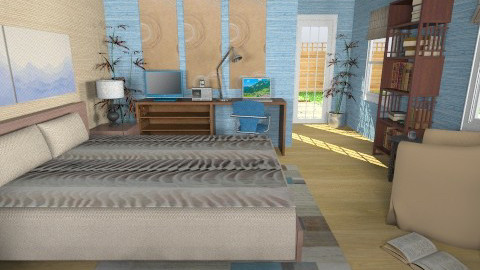 For Tharvis - Eclectic - Bedroom - by Theadora