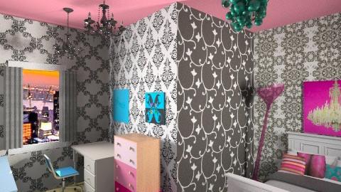 pop - Bedroom - by ohohmonica